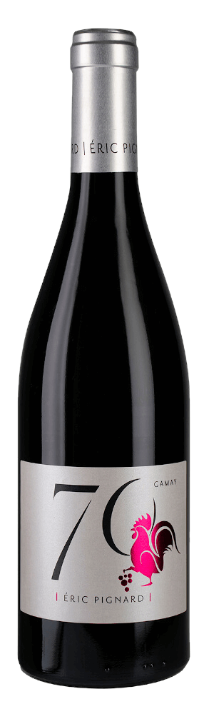 Photo de la bouteille cuvée 70